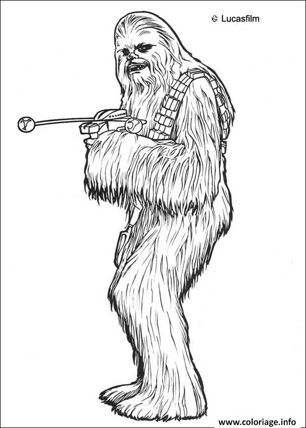 Coloriage Star Wars 55 dessin