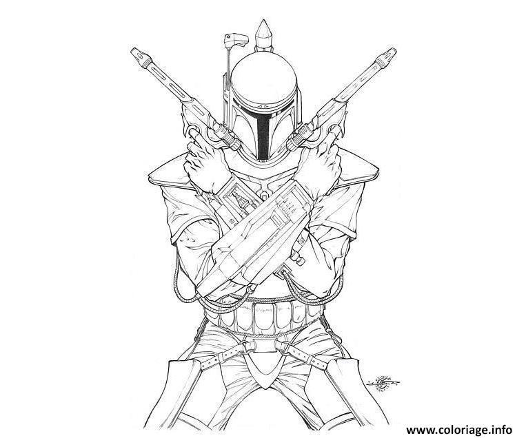 Coloriage Star Wars 96 dessin