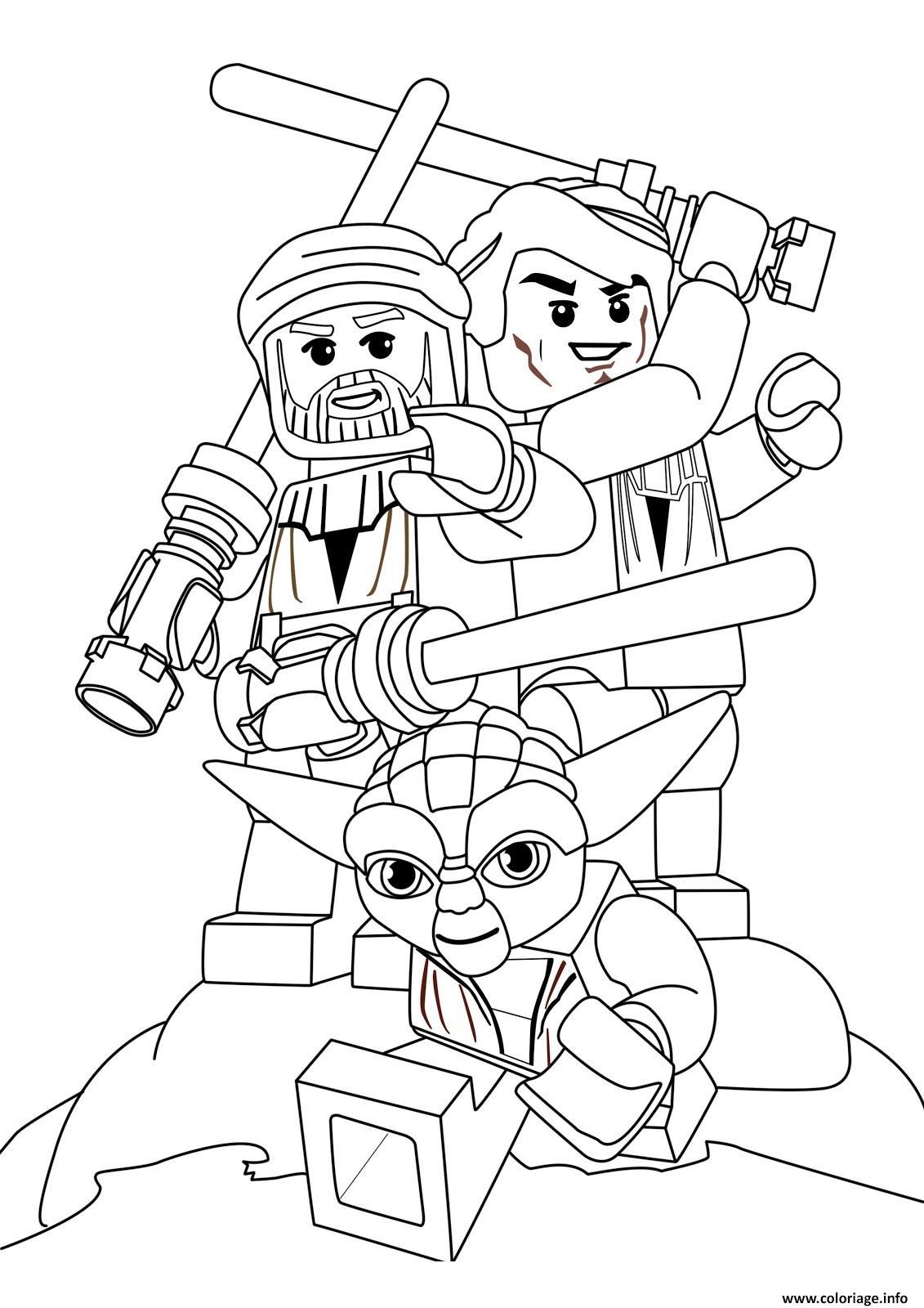 Coloriage Lego Star Wars 78 dessin