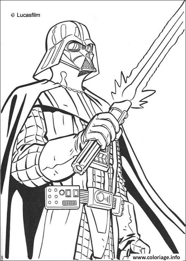 Coloriage Star Wars 30 dessin