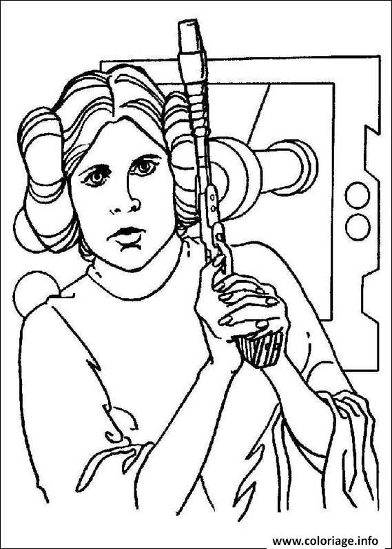 Coloriage Star Wars 76 dessin
