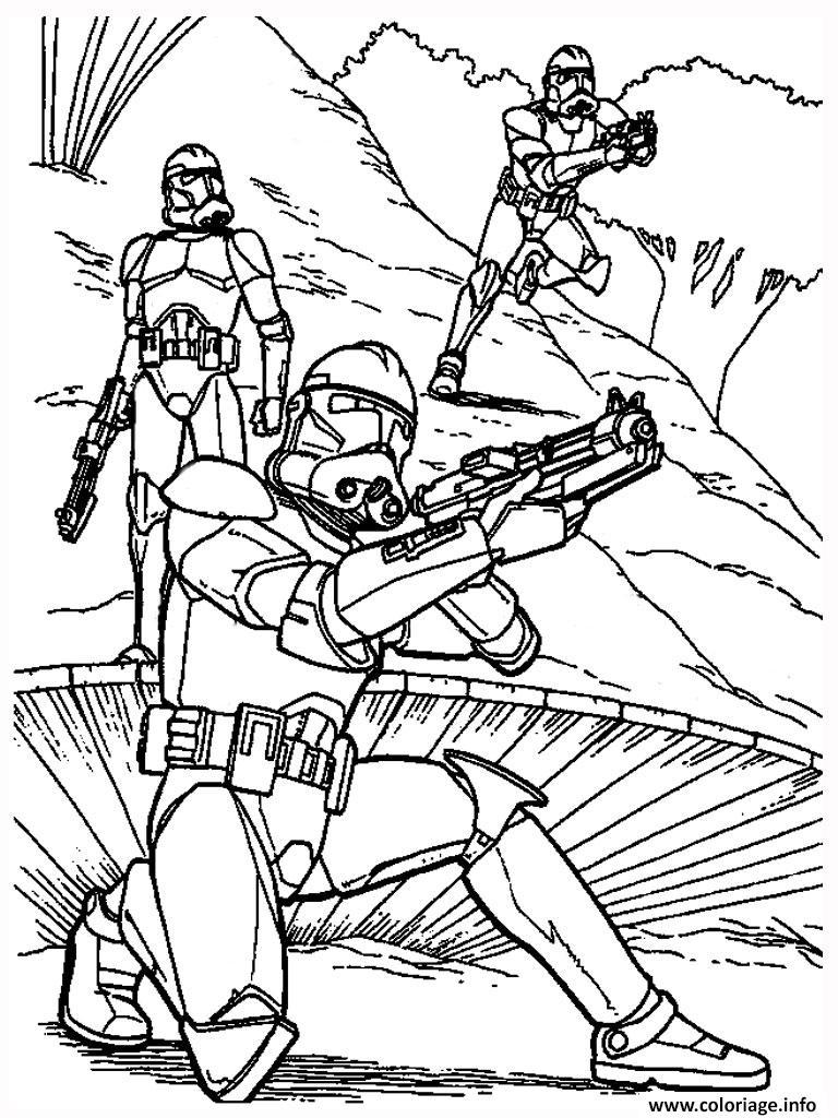 Coloriage Star Wars 88 dessin
