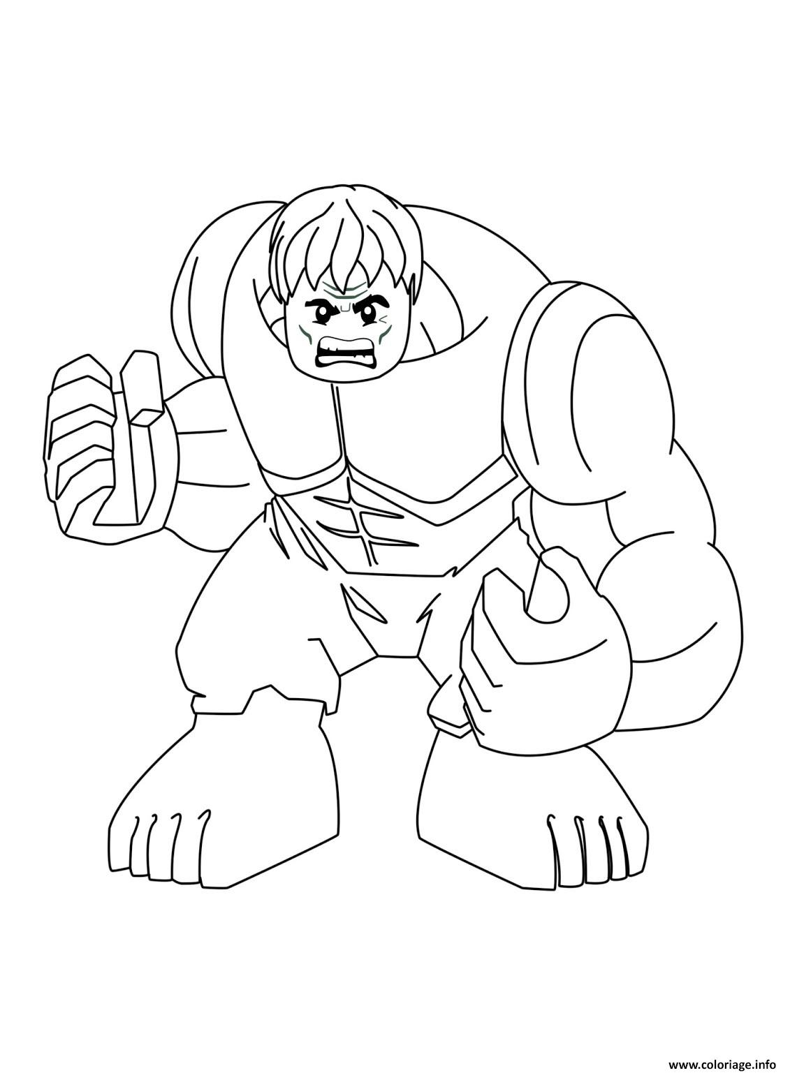 Lego Iron Man Spiderman Coloring Page