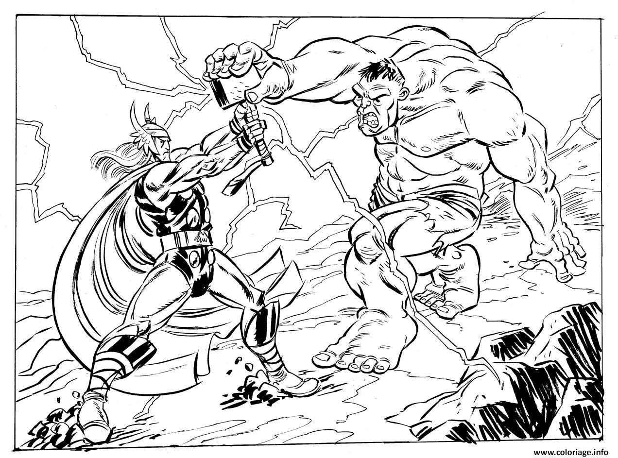 Hulk Adult Coloring Page