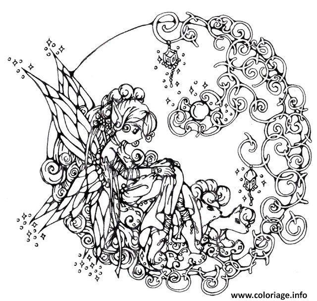 Coloriage Anti Stress Disney dessin