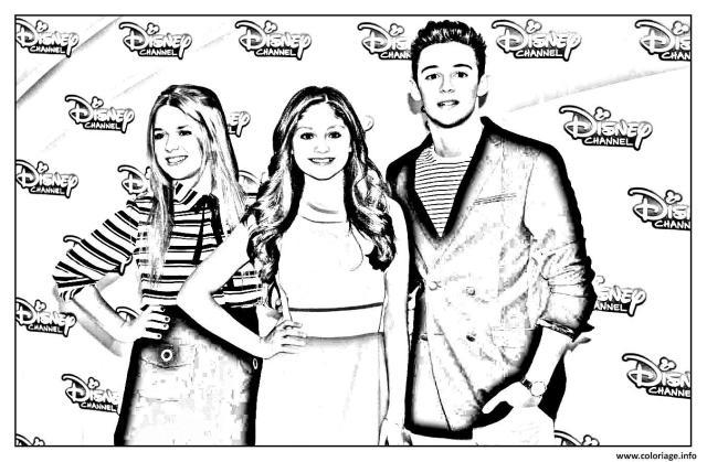 Coloriage Disney Channel Soy Luna 26 Dessin Soy Luna à imprimer