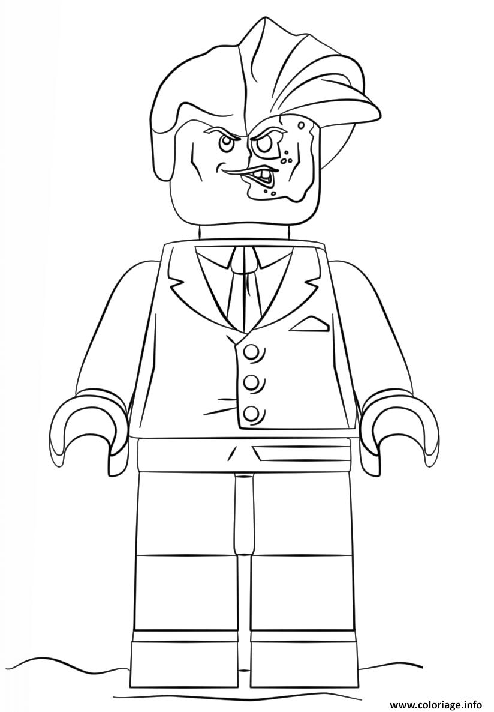 Peças encaixáveis para formar o que quiser usando apenas as … Coloriage Lego Batman Double Face Dessin Lego Batman à