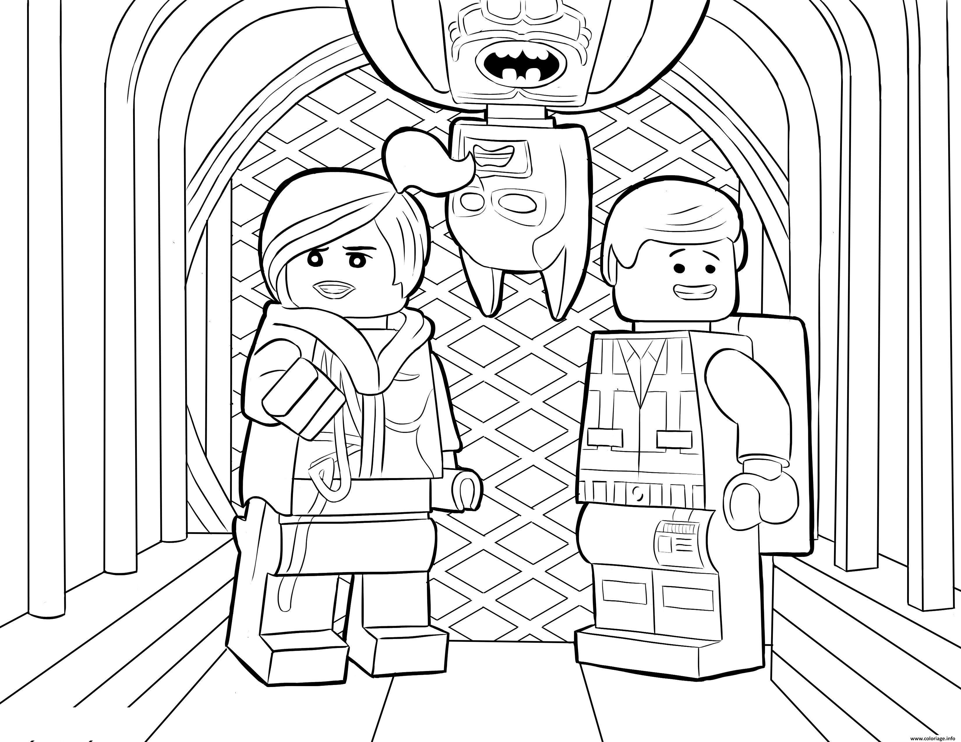 Coloriage Lego Batman Sheet dessin