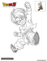 Gotenks Coloring Page