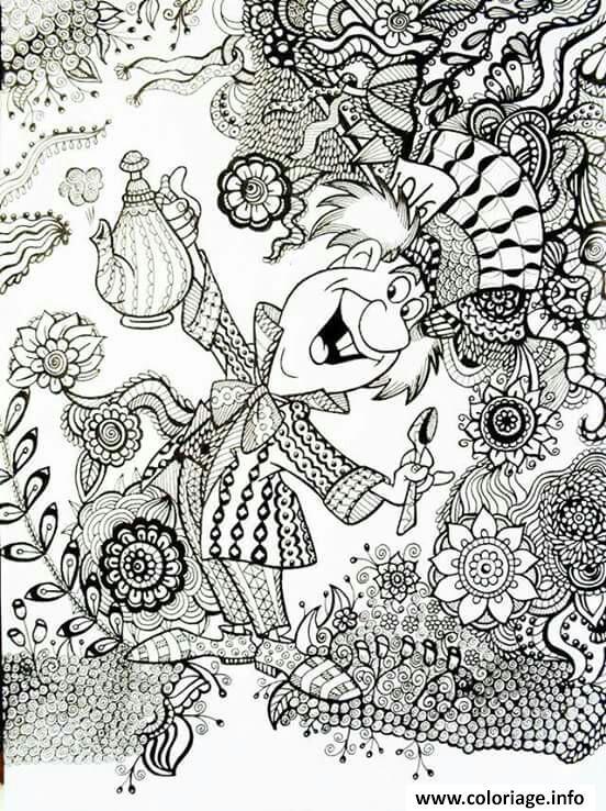 Dessin A Imprimer Mandala Disney : dessin, imprimer, mandala, disney, Coloriage, Mandala, Disney, Imprimer