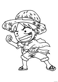 Coloriage De One Piece 2 Ans Plus Tard Coloriage One