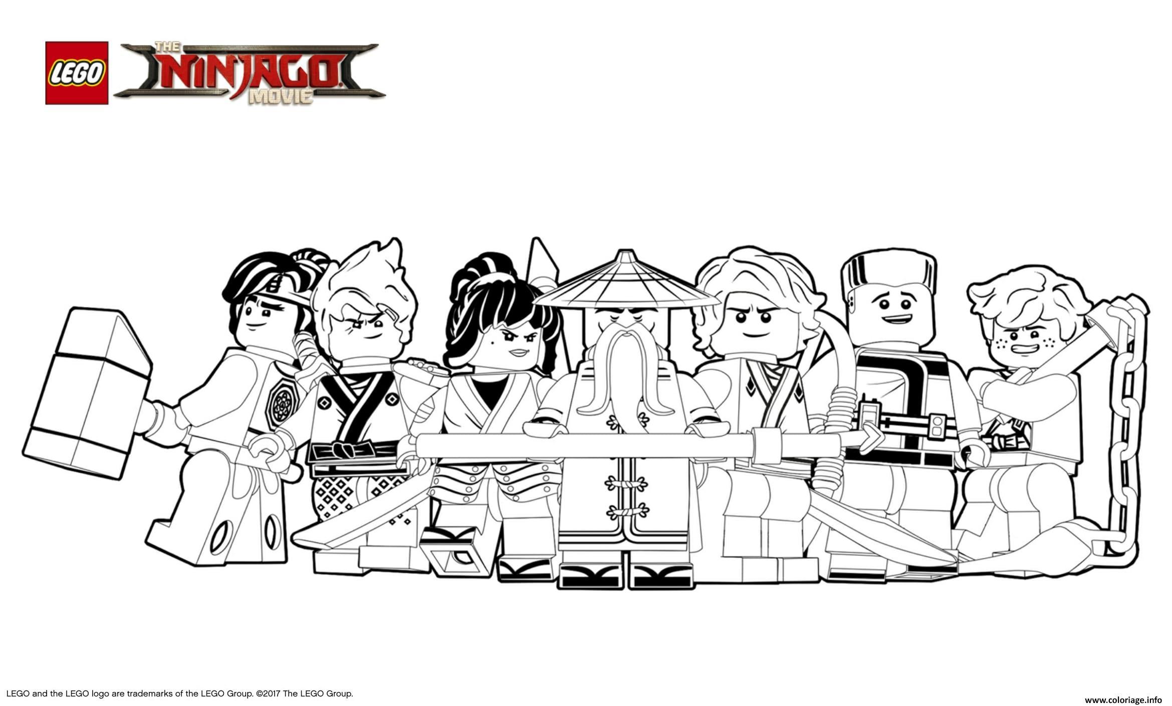 dessin à imprimer: Dessin A Imprimer Ninjago Spinjitzu