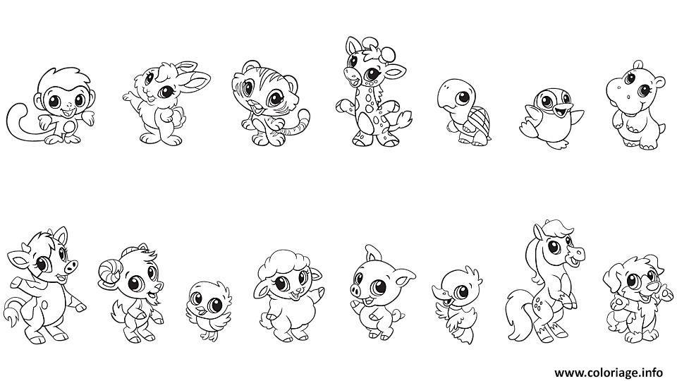 Coloriage Bebe Animaux Baby Animal dessin