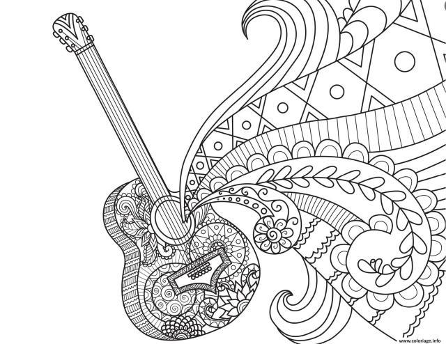 Coloriage Coco Disney Guitare De Miguel Par Bimbimkha Dessin Coco
