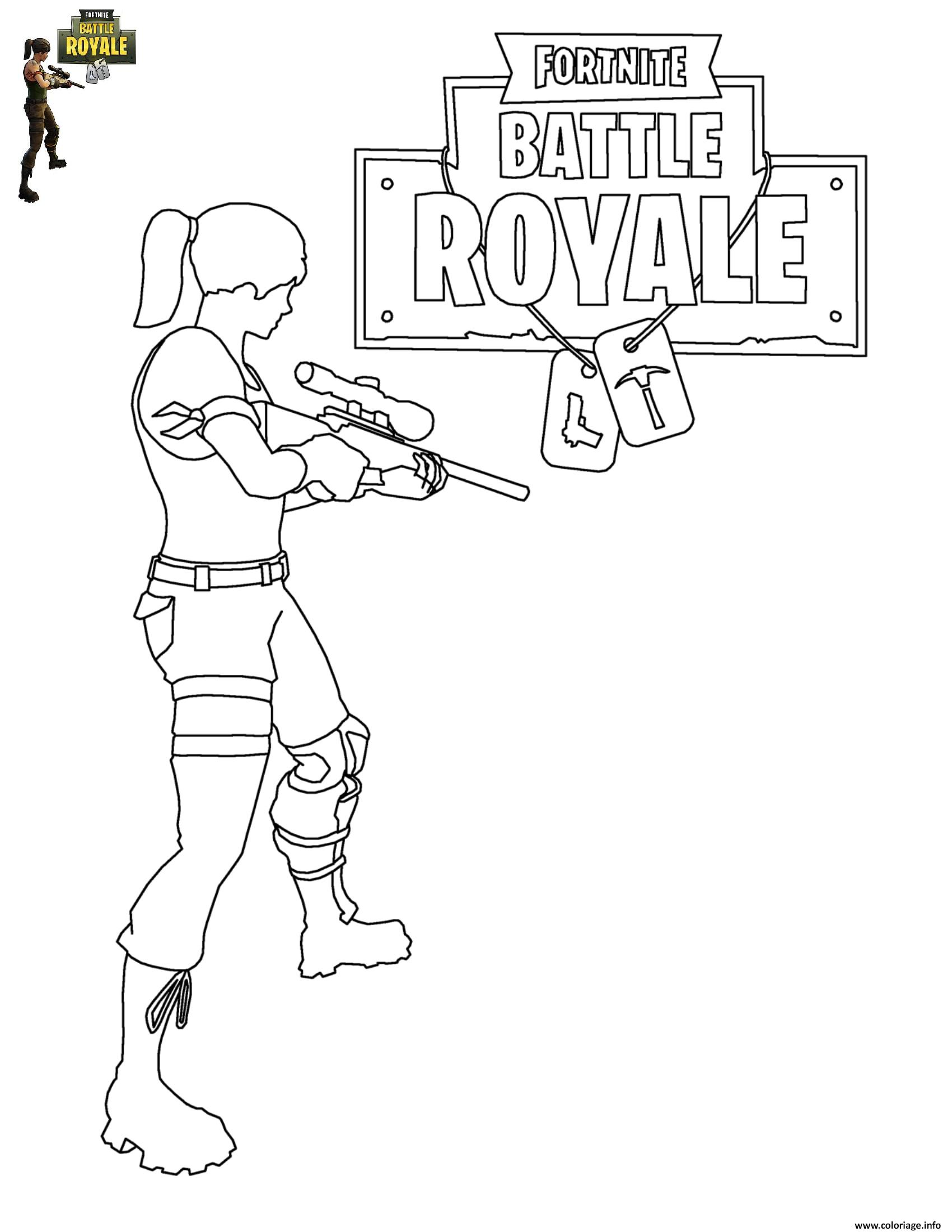 Fortnite Battle Royale Skins Coloring