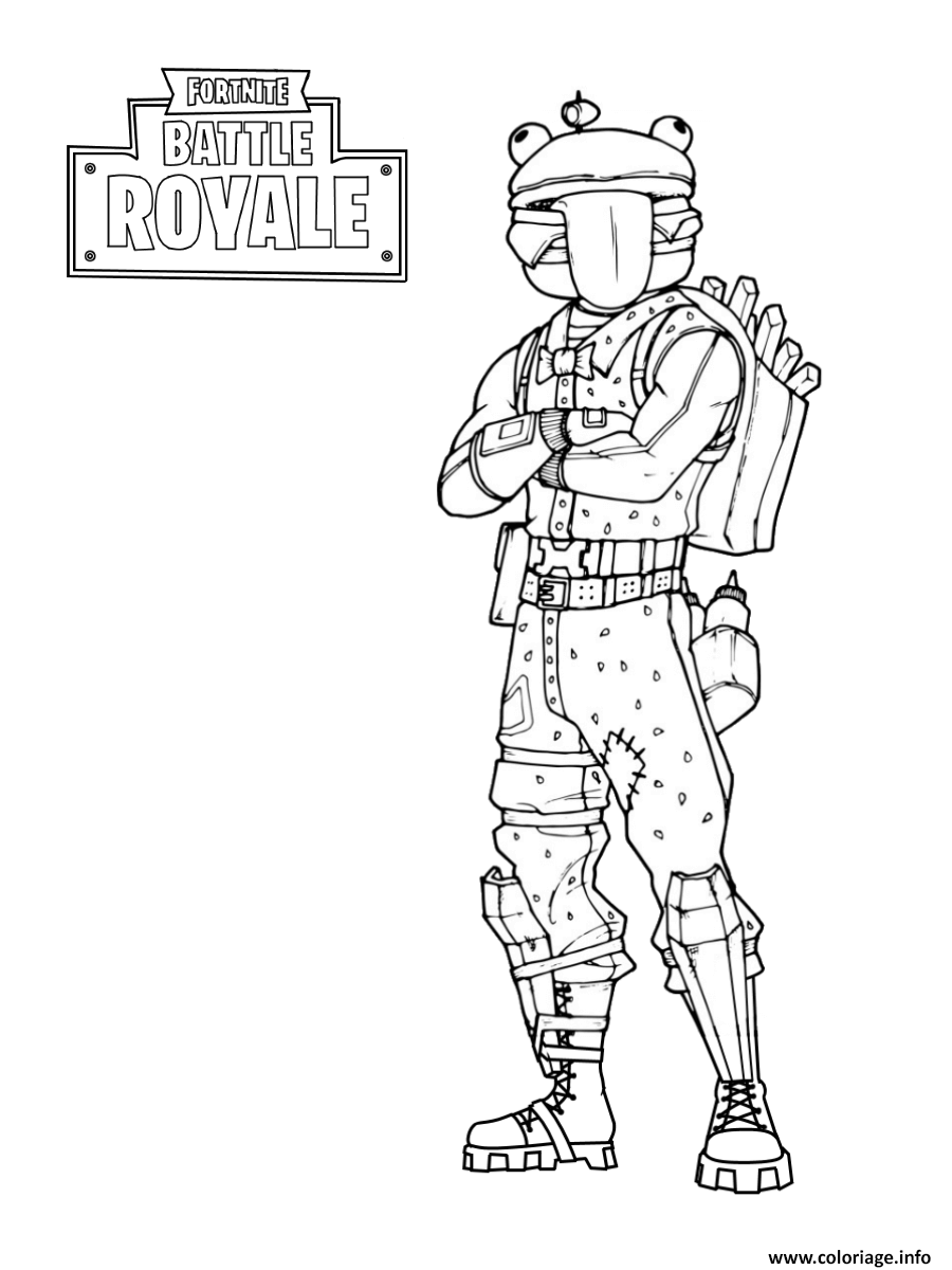 Dessin A Colorier Fortnite A Imprimer Fortnite Free On Ps4
