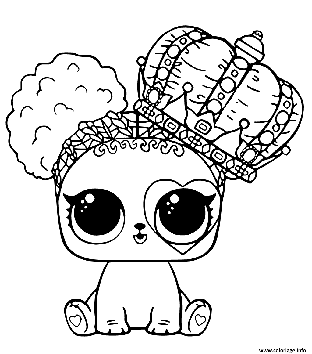 Lol Dolls Coloring Pages Queen Bee Doll Coloring Pages The