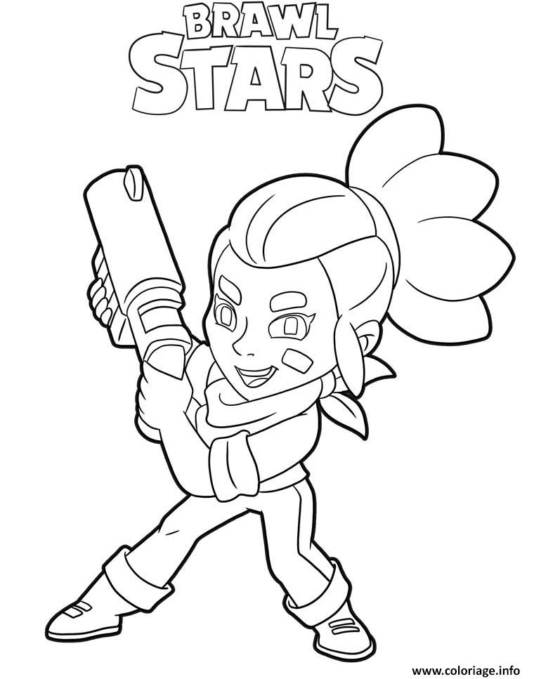Dessin Brawl Stars A Imprimer : dessin, brawl, stars, imprimer, Coloriage, Shelly, Brawl, Stars, Character, Dessin, Imprimer