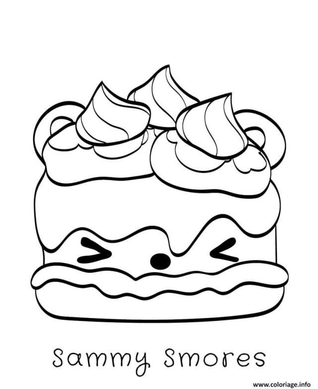 Coloriage Sammy Smores Dessin Num Noms à imprimer