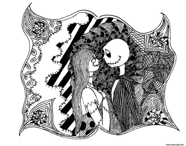 Coloriage Halloween L Etrange Noel De Mr Jack Dessin Monsieur Jack