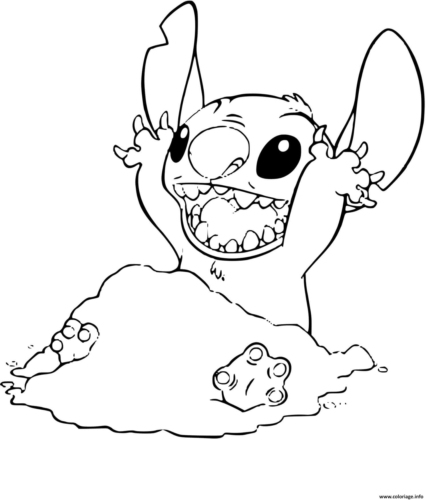 View 10 Dessin A Imprimer Disney Stitch Mignon - gettyfarinterest