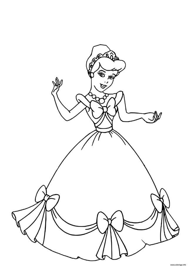 Coloriage Princesse La Belle Au Bois Dormant Quand Elle Etait Une