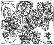 Coloriage Adulte Printemps 87 Dessins De Coloriage Printemps