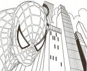 Coloriage SPIDERMAN à imprimer Gratuit sur Coloriage.info