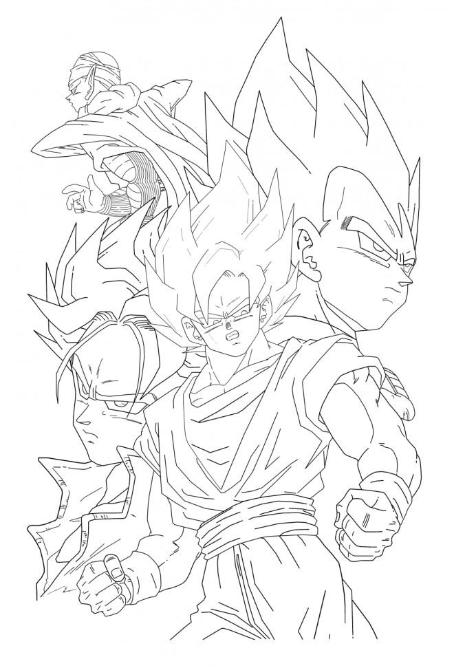 Dragon Ball Super Dessin Facile : dragon, super, dessin, facile, Coloriage, Dessin, Dragon, Facile, Gratuit, Imprimer
