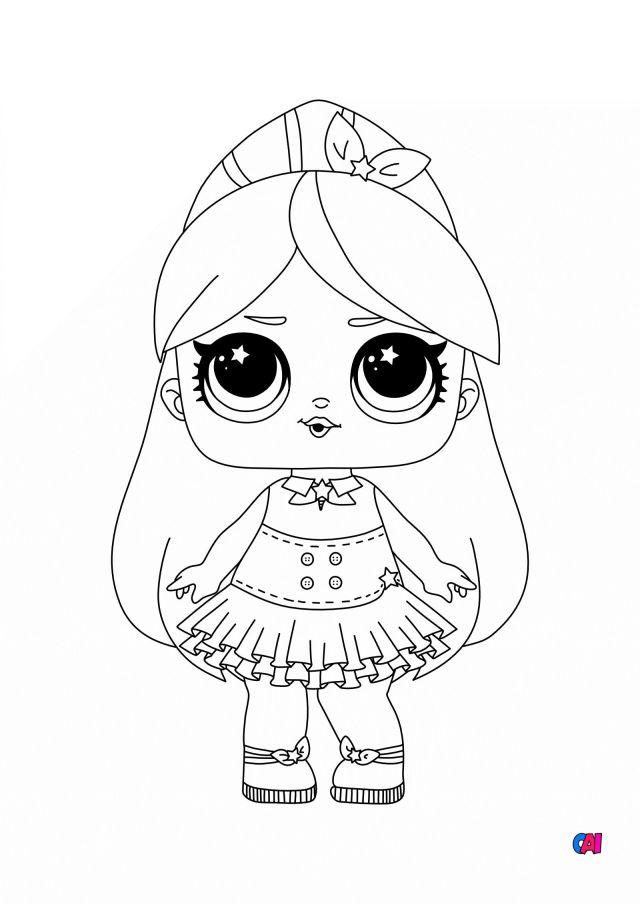 Coloriage Poupée Lol à imprimer - Luminous Princess