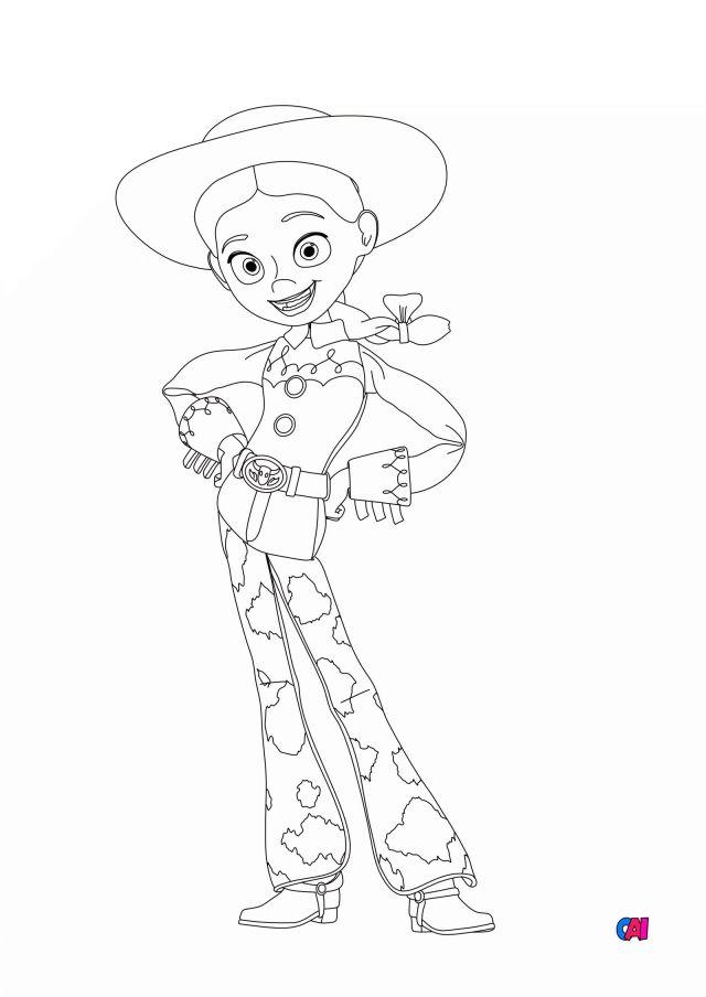 Coloriage Toy Story 255 à imprimer - Jessie 25