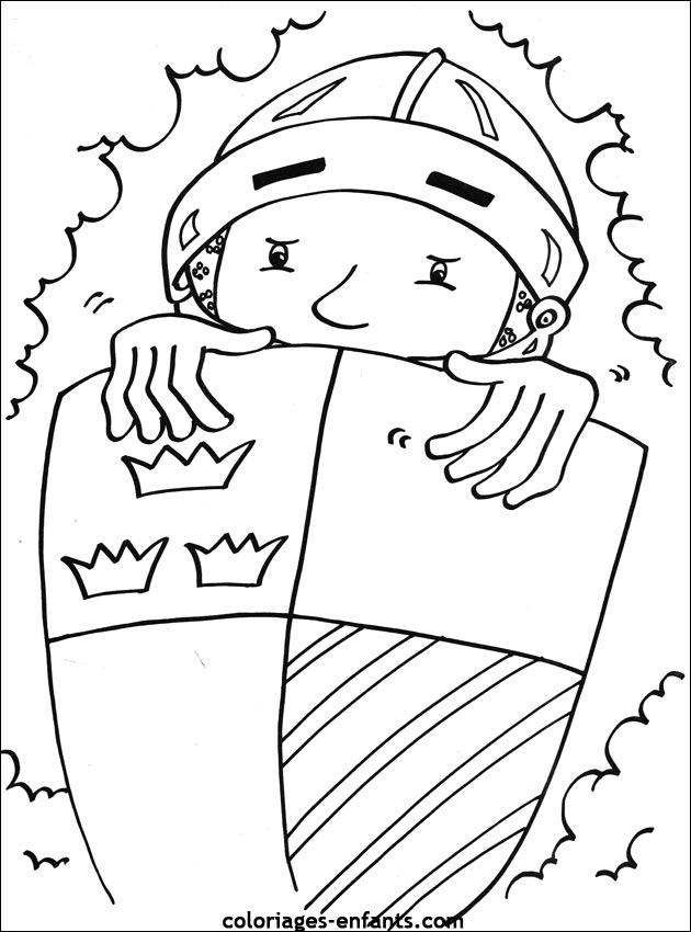 s coloriages personnages chevalier dessincoloriage