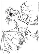 Coloriage Dragon 3 A Imprimer : coloriage, dragon, imprimer, Coloriage, Dragons,, Choisis, Coloriages, Dragons, Coloriez