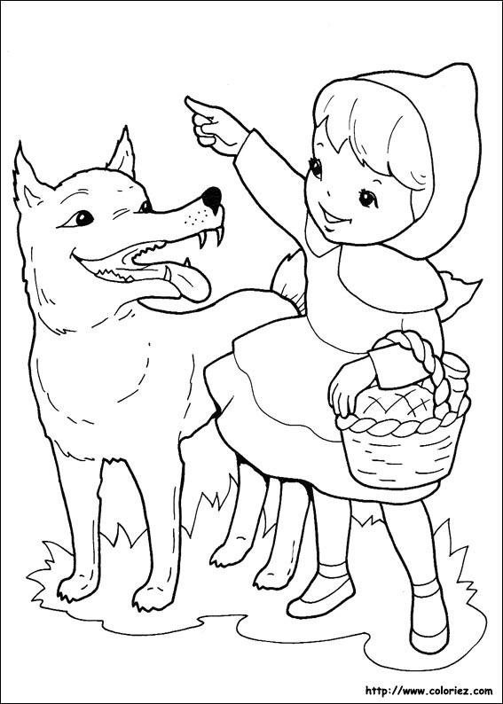 Dessin Le Petit Chaperon Rouge : dessin, petit, chaperon, rouge, Index, /images/coloriage/le-petit-chaperon-rouge
