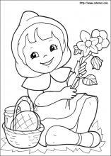 Le Petit Chaperon Rouge Coloriage : petit, chaperon, rouge, coloriage, Coloriage, Petit, Chaperon, Rouge,, Choisis, Coloriages, Rouge, Coloriez