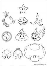 Coloriage Mario Kart 8 Deluxe : coloriage, mario, deluxe, Coloriage, Super, Mario, Bros,, Choisis, Coloriages, Coloriez