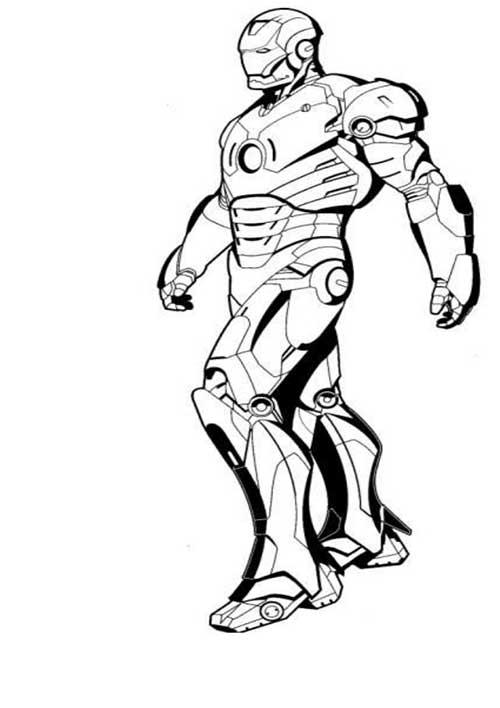 35 Desenhos De Os Vingadores Para ImprimirColorirPintar