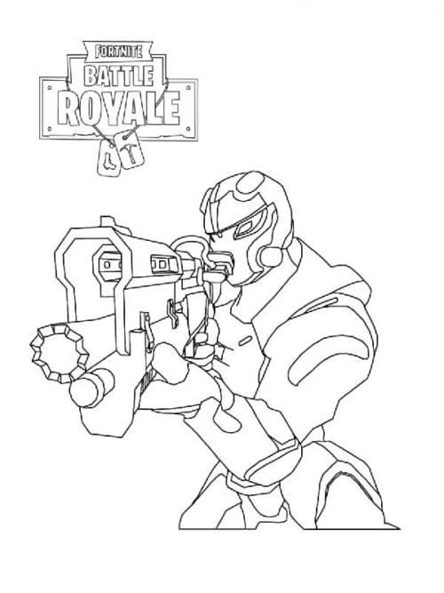 45 Desenhos do Game Fortnite para Pintar em Casa e se