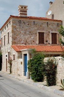Mediterranean Style House with Stone