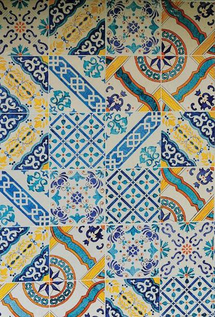 Italian Tiles  Colorineverydaylife