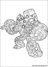 Skylander Coloring : skylander, coloring, Skylanders, Coloring, Pages, Coloring-Book.info
