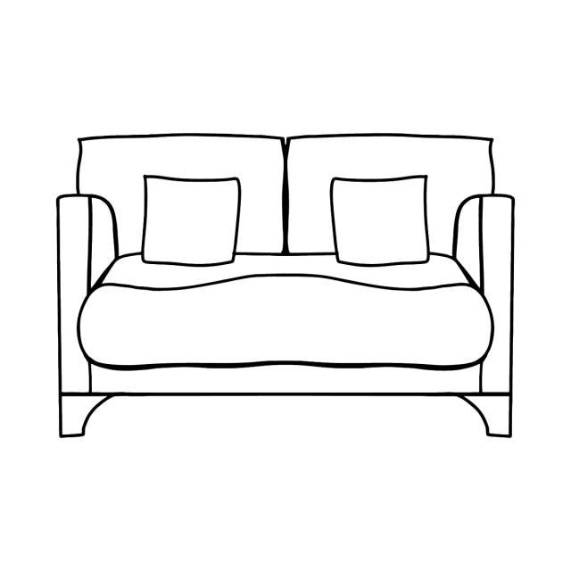 Sofa coloring page ♥ for kids Online or Printable for Free!