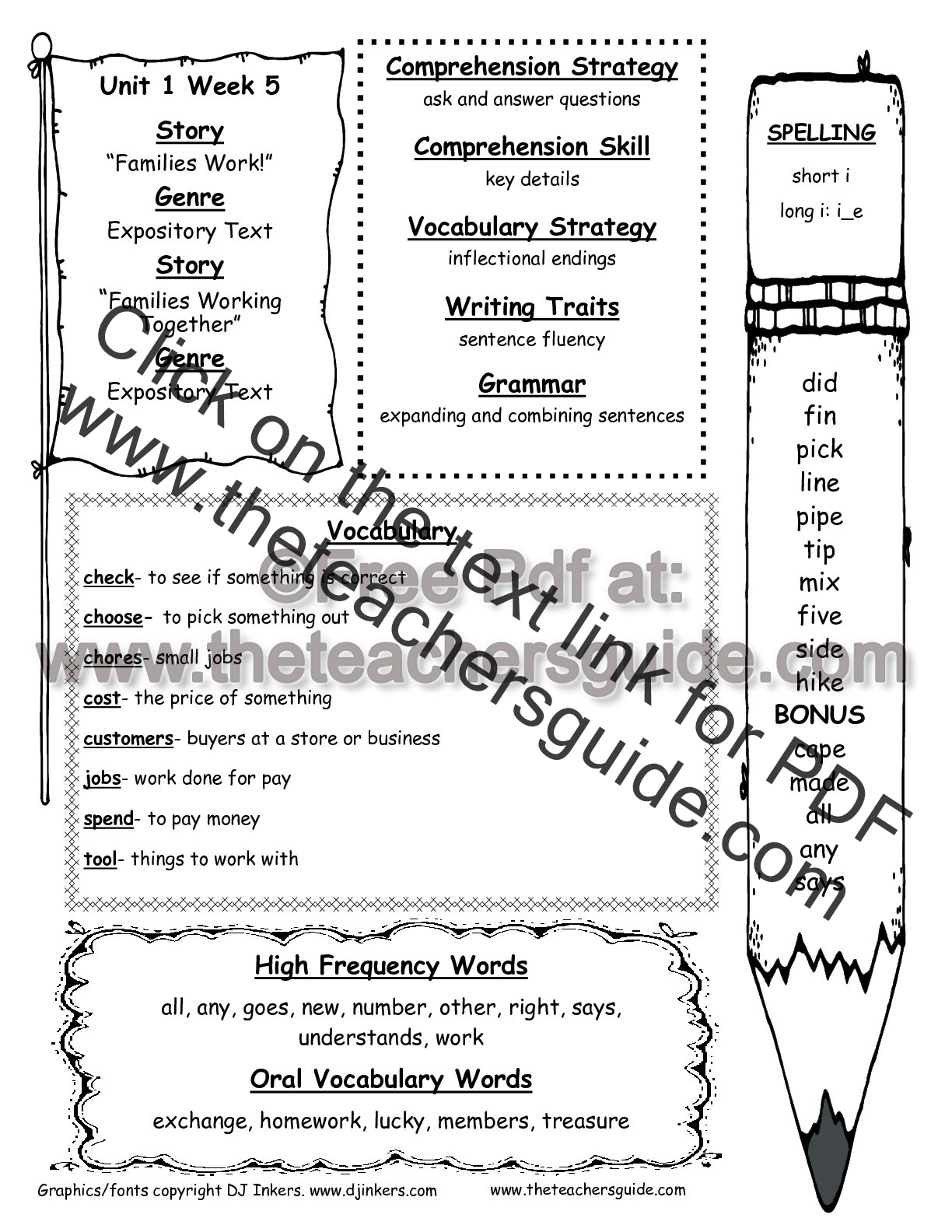 hight resolution of Inflected Endings Worksheets 1st Grade   Printable Worksheets and  Activities for Teachers