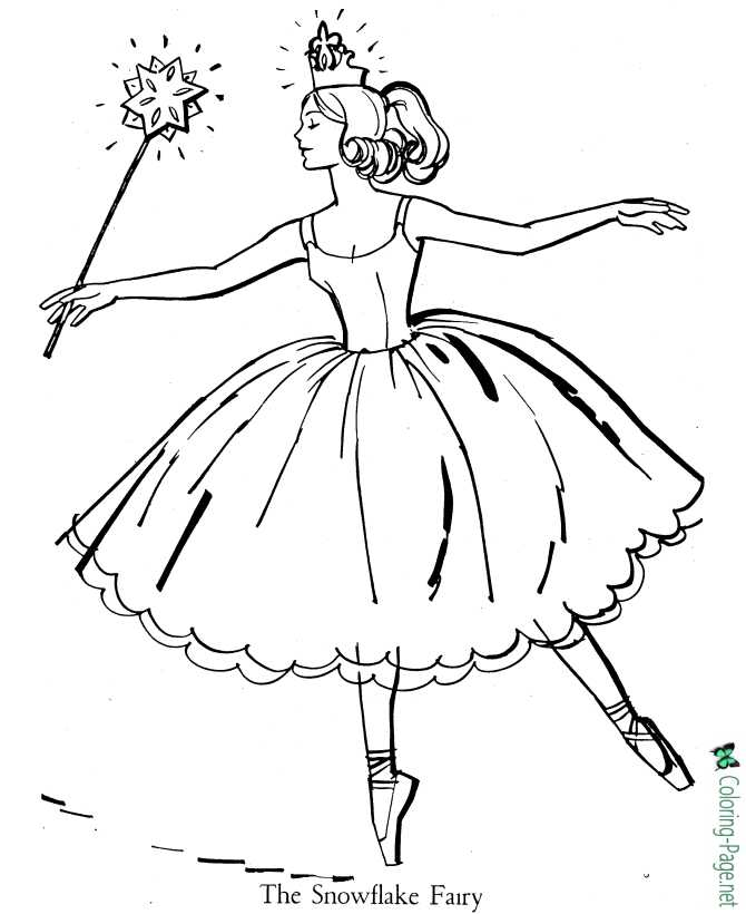 Ballerina Coloring Sheet : ballerina, coloring, sheet, Ballet, Coloring, Pages