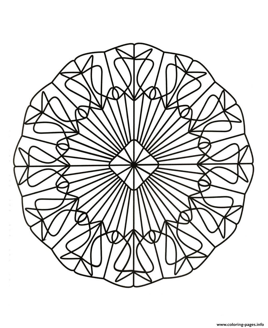 Mandalas To Download For Free 2 Coloring Pages Printable | free coloring pages mandalas