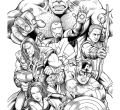 Photos coloring pages printable avengers of halloween smartphone hd pics adult avengers hulk book