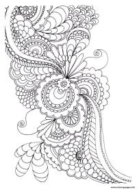 Zen Coloring Books Stress Coloring Pages