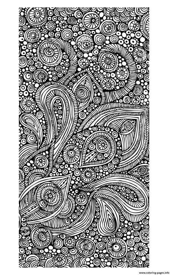 Adult Zen Coloring Pages Printable Free