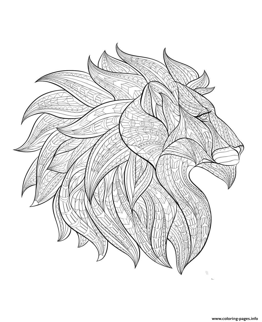Lion Coloring Page Free Coloring Pages Download | Xsibe monkey ...