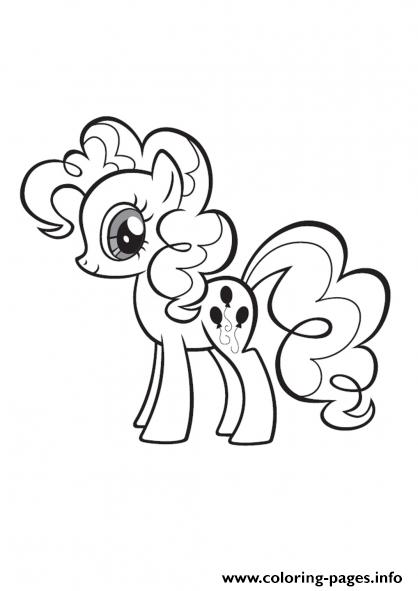 Pinkie Pie Coloring Page : pinkie, coloring, Little, Pinkie, Coloring, Pages, Printable
